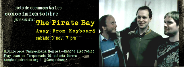 Imágenes para docuMentales: The Pirate Bay